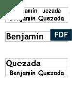 Benjamín Uezada