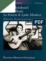 Yolanda Broyles González - Lydia Mendoza's Life in Music