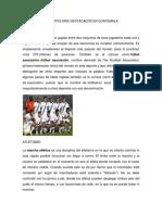 Deportes Mas Destacados en Guatemala