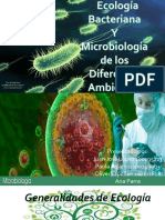 Microbiologia Ambiental, Ecologia Bacteria y Microbiologia de Los Diferentes Ambientes.