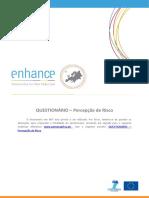 Portugues Questionnaire RISK PERCEPTION ENHANCE-Project