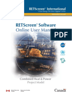 Retscreen Manual (CHP)