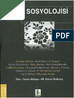 Yasin Aktay & M  Emin Köktaş - Din Sosyolojisi pdf