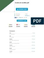 Grados de Tornillos PDF