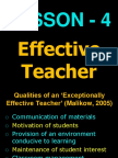2. Perspectives of Teachers Education