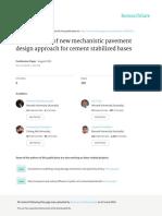 Developmentofnewmechanisticpavementdesignapproachforcementstabilizedbases