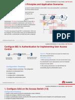 802.1x Authentication Configuration