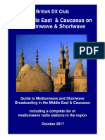 Middle East & Caucasus on Mediumwave and Shortwave - Oct 2017 - British SW Club