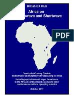 Africa on SW - Oct 2017 - British DX Club
