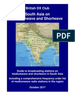 South Asia on Mediumwave and Shortwave - Oct 2017 - British SW Club