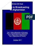 Broadcasting in Afghanistan - Oct 2017 - British DX Club