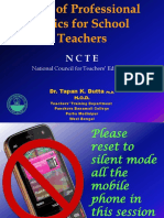 5. Code of Professional Ethics for School Teachers