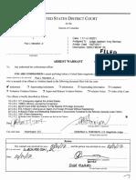 Manafort Gates arrest warrants