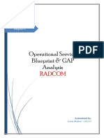 Report-Operational Service Blueprint