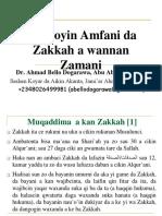 Hanyoyin Amfani da Zakkah a wannan Zakkah.ppt