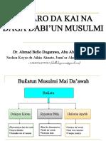 Quu Anfusakum Wa Ahleekum Naaraan - Tarbiyyar 'Ya'Ya a Musulunci