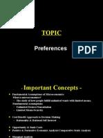Microeconomics NVM Lec 2 Prefrences