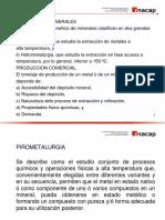 Clase 1 Introducción a La Pirometalurgia