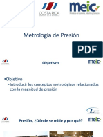 Metrologia de Presion