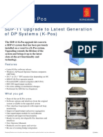 SDP-11 Upgrade to Latest Generation of DP System K-pos