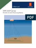 Manual - HPR 400P Series Instruction Manual