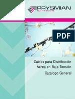Catalogo Cables Aereos BT