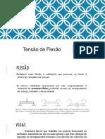 Aula 5 - Propriedades Mecânicas - Flexão (1)