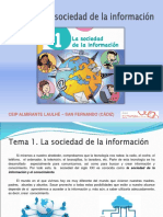 Tema 1 - La Sociedad de La Información