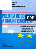 Dragan, G. - Politica de Coeziune a Uniunii Europene