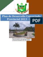 Plan de Desarrollo Concertado Provincial 2013 - 2021