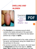 Acute Scrotal Swelling & Pain in Children