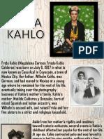 Frida Kahlo - English