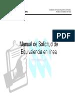 EQUIVALENCIAS MANUAL2017CE