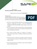 1 - Carta de Presentacion de La Propuesta