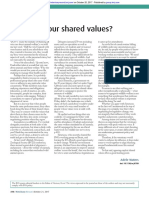 What are your shared values?