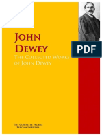 How Thinh T the Collected Works of John Dewey_ the Com - John Dewey