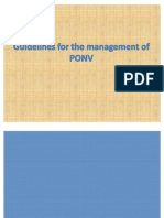 POVN -Postoperative Nausea and Vomiting