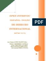 Open InterVoc (Español-Ingles) Derecho Internacional Publico