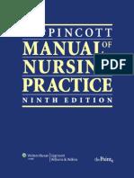 Lippincott Manual of Nursing Practice, 9th Edition