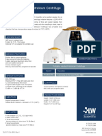 Heated Petroleum Centrifuge Spec Sheet