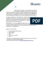 Carta Presentación Chequeo Preventivo