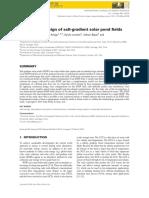Constructal Design Salt-gradient Solar Pond Fields