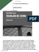 Dominguez - Herrera Una Nueva Novela Lírica