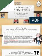 Socializacion de La Ley Nº 30364