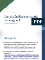 14 - Conversión Electromecánica Clase 1