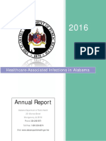 Healthcare-Associated Infections 2016 Annual Report