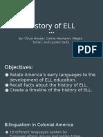 history of ell