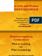 Adhd in Women the Hidden Disorder