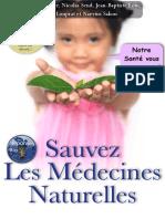 Sauvez Les Médecines Naturelles-vf - Loin