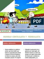 Centralismo vs Federalismo
